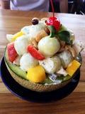 Ensalada de frutas Imagenes de archivo