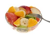 Ensalada de frutas frescas Fotografía de archivo libre de regalías