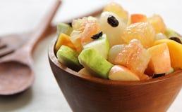 Ensalada de frutas sana Imagen de archivo libre de regalías