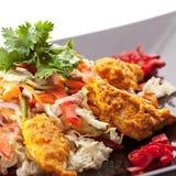 Ensalada de Korma del pollo Imagenes de archivo