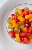 Ensalada de la fruta y verdura Imagen de archivo libre de regalías