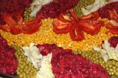 Ensalada de la fruta y verdura Fotografía de archivo libre de regalías