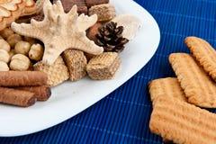 Ensalada de la galleta Imagen de archivo libre de regalías