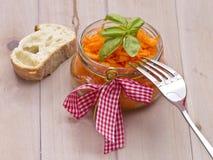 Ensalada de la zanahoria Fotografía de archivo libre de regalías