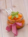 Ensalada de la zanahoria Foto de archivo