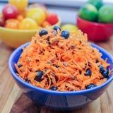 Ensalada de la zanahoria y del arándano Imagen de archivo