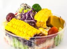 Ensalada de las frutas y verdura Foto de archivo
