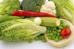 Ensalada de las verduras Fotografía de archivo