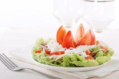 Ensalada de las verduras frescas imagen de archivo libre de regalías