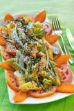 Ensalada de las verduras frescas Fotos de archivo