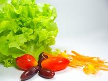 Ensalada de las verduras frescas Ensalada Comida para sano imagenes de archivo