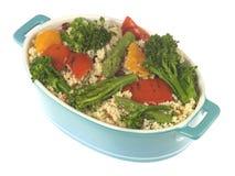 Ensalada de los alimentos integrales Foto de archivo