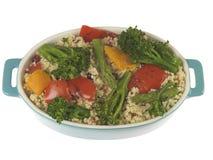 Ensalada de los alimentos integrales Imagen de archivo