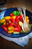 Ensalada de los Uva-Tomates Imágenes de archivo libres de regalías