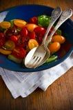 Ensalada de los Uva-Tomates Fotos de archivo