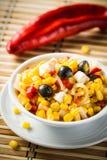 Ensalada de maíz Imagen de archivo