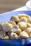 Ensalada de patata imagen de archivo libre de regalías