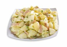 Ensalada de patata Foto de archivo libre de regalías