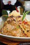 Ensalada de pollo tailandesa Fotografía de archivo