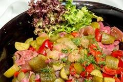Ensalada de verduras conservadas en vinagre Foto de archivo libre de regalías