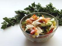 Ensalada de verduras frescas Foto de archivo