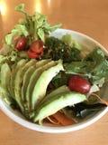 Ensalada del aguacate, comida japonesa Fotos de archivo libres de regalías
