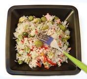Ensalada del arroz Fotos de archivo
