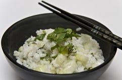 Ensalada del arroz Foto de archivo libre de regalías