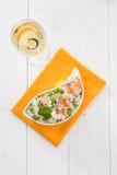 Ensalada del arroz imagenes de archivo
