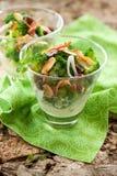 Ensalada del bróculi Imagen de archivo libre de regalías