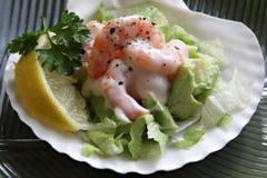 Ensalada del camarón Imagen de archivo