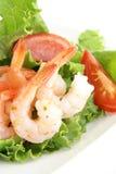 Ensalada del camarón Imagen de archivo libre de regalías