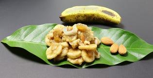Ensalada del plátano Imagen de archivo