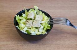 Ensalada del queso de soja Imagenes de archivo