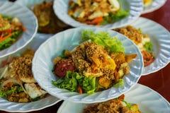Ensalada del queso de soja del Islam foto de archivo libre de regalías