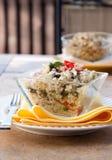 Ensalada del queso Feta de la quinoa Imágenes de archivo libres de regalías