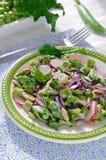 Ensalada del rábano del bróculi Foto de archivo libre de regalías