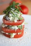 Ensalada del tomate Imagen de archivo