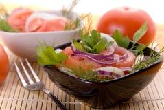 Ensalada del tomate foto de archivo libre de regalías