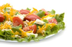 Ensalada del tomate Foto de archivo