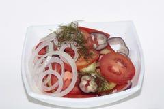 Ensalada del tomate, sabroso y sano imagen de archivo libre de regalías