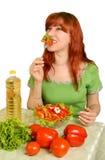 Ensalada dietética Imagen de archivo