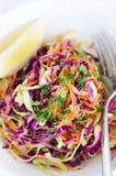 Ensalada fresca de la ensalada de col para el verano Imagenes de archivo