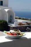 Ensalada griega Foto de archivo libre de regalías
