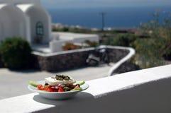 Ensalada griega fotografía de archivo libre de regalías