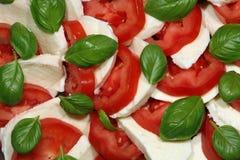 Ensalada italiana de Caprese Foto de archivo