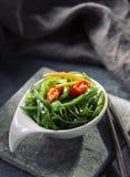 Ensalada japonesa de la alga marina Foto de archivo libre de regalías