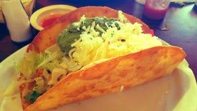 Ensalada mexicana del taco imagen de archivo libre de regalías