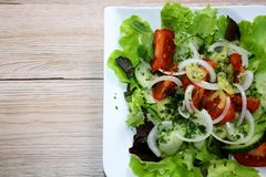 Ensalada mezclada - gemischter Salat fotos de archivo
