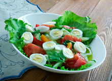 Ensalada-mixta Stockbild